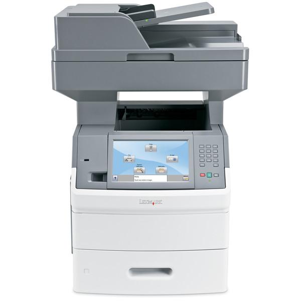 Multifunctionala Laser Lexmark X656de, 55 ppm, Monocrom, Scaner, Copiator, Fax, USB, Retea, Duplex defect