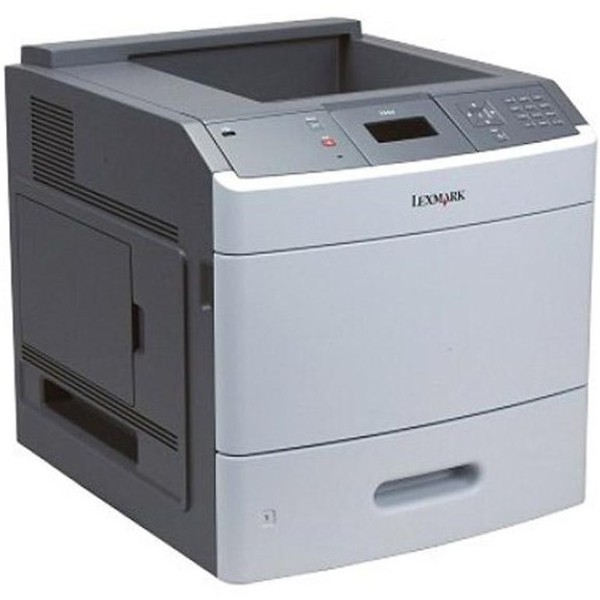 Imprimanta laser monocrom Lexmark T650N, Retea, USB 45ppm