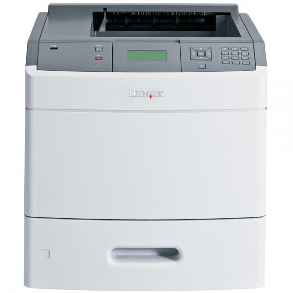 Imprimanta laser monocrom Lexmark T652N, USB, Retea, 48 ppm