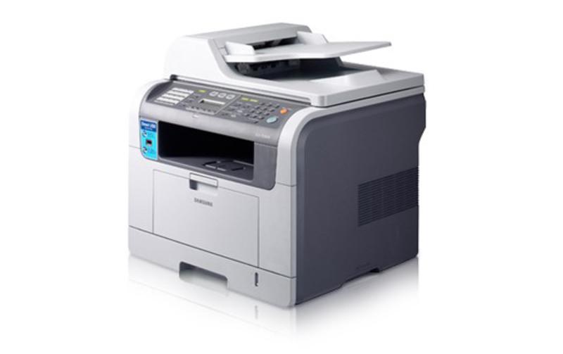 Multifunctionala Samsung SCX-5530FN, Monocrom, 28ppm, Fax, Scanner, Copiator, Retea, Duplex